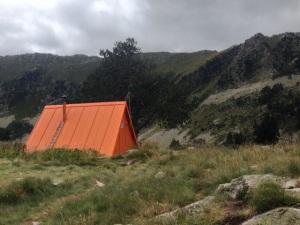 La cabaña/refugio de Airoto