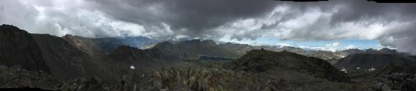 Panorámica desde la cima del Carlit.