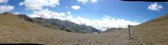 Panorámica desde el Col d'Eyne