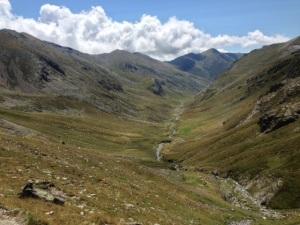 Camino del Col de la Marrana.